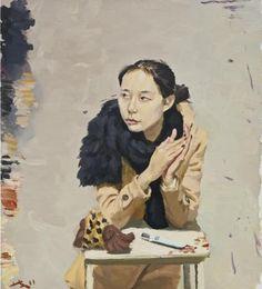 Chinese Contemporary artist Liu Xiaodong, Lili on ArtStack #liu-xiaodong #art