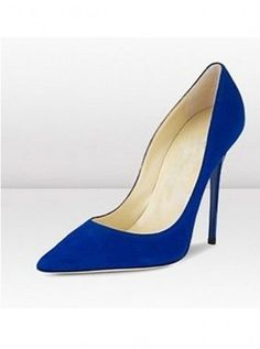 Pointy toe heels- my version of this blue suede is my FAVORITE shoe for fall.