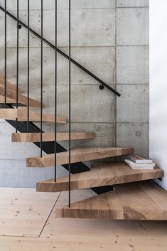 Home Stairs Design, Interior Stairs, Home Design Decor, Home Interior Design, Modern Stairs Design, Stair Design, Industrial Stairs, Industrial House, Escalier Design