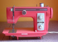 The Haby Goddess: January 2011 Brother. Pink. Sewing machine.