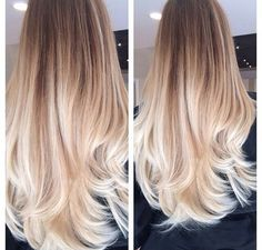 ombre hair for long hair - Google Search
