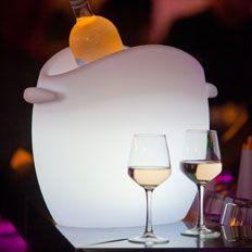 LED Illuminated Table Top Icebucket