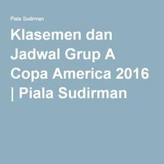 Klasemen dan Jadwal Grup A Copa America 2016 | Piala Sudirman