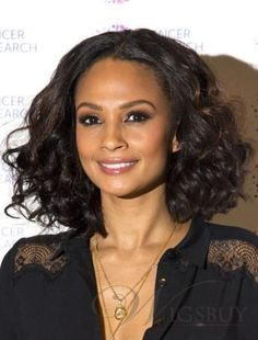 Soft Curly Hair Bob Hairstyles For Black Women