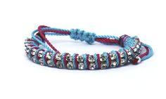 picarosa - double rhinestones with colors Rhinestones, Colors, Bracelets, Shopping, Jewelry, Fashion, Moda, Jewlery, Jewerly