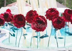 Бумажные цветы | Конфетти Декор