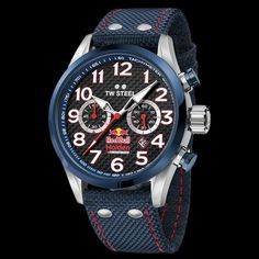 TW STEEL RED BULL HOLDEN RACING TEAM 48MM CHRONO SPECIAL EDITION WATCH