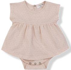 Tzara Skirted Bodysuit - Dot Alba by One More in the Family