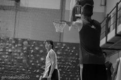 Miramos a canasta con #CarlosBlanes. 10 de septiembre #baloncesto #UALucentum #Lucentum #Alicante #basket #pretemporada #LigaEBA #GrupoEA
