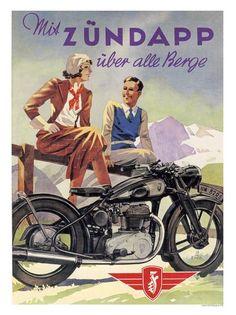 AP247H - Zundapp Motor Cycles