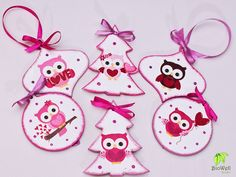 Baglyos karácsonyfadíszek http://biowellnatura.hu/p/baglyos-karacsonyfadiszek.html