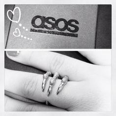 ASOS Claw Ring