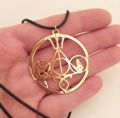 Mortal Instruments, Harry Potter, Hunger Games, Divergent and Percy Jackson Necklace