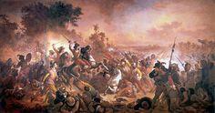 Vitor Meirelles-La batalla de los guararapes. (1879)