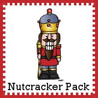 Free Nutcracker Learning Pack - ages 2 to 9 over 60 pages with cursive, math and langauge activities with a 30 page Tot pack - 3Dinosaurs.com