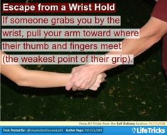 Escape from a Wrist Hold