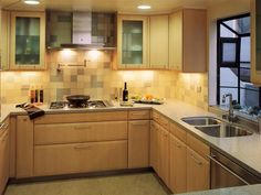 See pictures of beautiful kitchen cabinet options at HGTV.com. Find examples of wood, laminate, stainless steel and more.