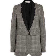 Stella McCartney Casella wool-tweed blazer (1,365 CAD) ❤ liked on Polyvore