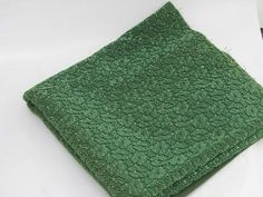 Eames era mid-century vintage cut leaf pattern loop texture upholstery fabric