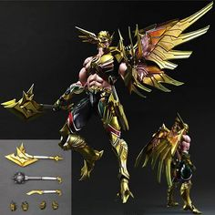 Super heroes re-imagined by Play Arts Kai craftsmanship! Thangar's hero Hawkman is redesigned by the artists of Square Enix for the DC Universe Variant Play Arts Kai Series! He is ready to soar into t