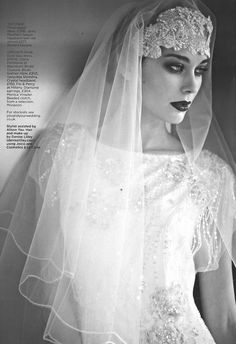 Bridal Editorial - Jenny Packham