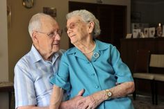 """Soul mates: Jim and Elva Jordan at home ready to celebrate their platinum anniversary. Jim, 93, and Elva, 91, met in Sea Lake as teenagers in 1939.    """"I was playing tennis with Elva's brother and then went back to his house for a round of sing-song. I saw this girl and knew she was the one I wanted to be with,"""" Mr Jordan said.    Mrs Jordan said they had managed to maintain their love through to their platinum anniversary. """"We're probably more in love than ever,"""" she said.    """"We share…"""