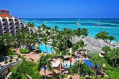 Playa Linda Beach Resort in Palm Beach, Aruba. Completely renovated property in January 2011.