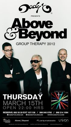 - Above and Beyond - Creamfield festival, Gold Coast