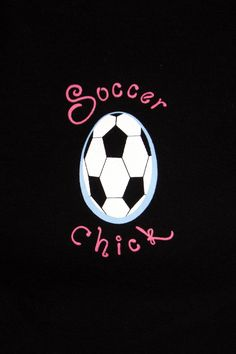 Soccer Chick - that's my Emma!