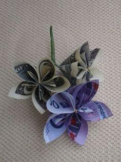 wedding bouquet origami paper money bouquet100 by kirishkin