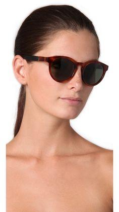 The Row Leather Round Sunglasses. Gafas De Sol ... 9ff0b00e09c2