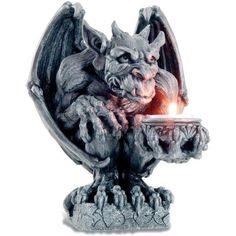 Bougeoir gothique statuette - figurine Gargouille - Achat / Vente bougeoir Résine - Cdiscount