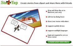 StoryTop es una utilidad web gratuita, sin obligación de registro, para contar historias a través de simpáticas viñetas. Muy divertida y fácil de utilizar.