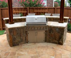 Outdoor Kitchens on Pinterest outdoor kitchens, brushed nickel and ...