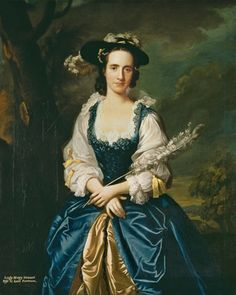 1749 Lady Mary Stewart (1720-51) wife of Kenneth Mackenzie, Lord Fortrose by Allan Ramsay