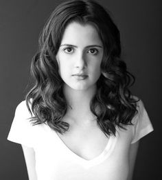 Laura Marano!  She is so pretty, and I love her curls!