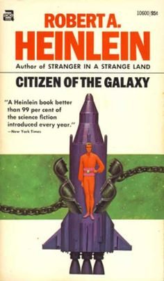 Ace Books - Citizen of the Galaxy - Robert A. Heinlein