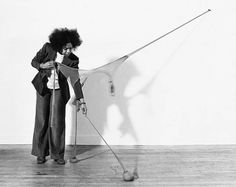 """Senga Nengudi's """"Ceremony for Freeway Fets"""" and Other Los Angeles Collaborations Watts Riots, Performance Art Theatre, Watts Towers, Betye Saar, Harlem Renaissance, Feminist Art, Black Artists, Assemblage Art, Graphic Design Posters"""
