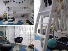 kinderzimmer einrichten; kinderzimmer türkis blau; modernes ... - Kinderzimmer Blau Turkis