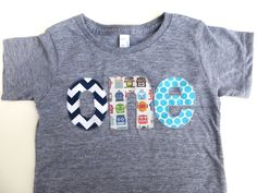 Birthday Shirt one shirt chevron robots aqua by BestBirthdayEver, $26.00