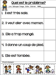 Printing Videos Vase How To Learn French Watches Info: 8489998274 French Language Lessons, Spanish Language Learning, French Lessons, Spanish Lessons, French Flashcards, French Worksheets, French Teaching Resources, Teaching Time, Teaching Reading