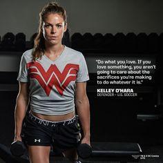 Kelley O'Hara defender for the #USWNT. #Motivation #Soccer