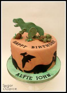 Dinosaur cake https://www.facebook.com/SugarandSpiceGourmandise