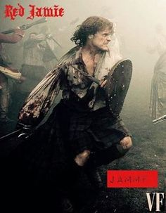 Jamie at Culloden, (Voyager) Outlander News, Outlander Fan Art, Sam Heughan Outlander, Outlander Casting, Outlander 2016, Outlander Novel, Outlander Quotes, Jamie Fraser, Claire Fraser