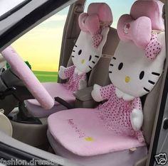 Hello kitty car covers