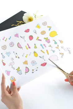 Make and tell cute stickers
