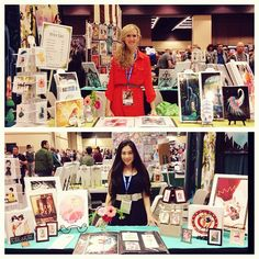 Stop by at our booth Small Press 702! #lianahee #brittneylee #emeraldcitycomiccon