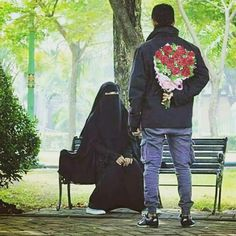 Muslim Couple Photography, Girl Photography, Cute Muslim Couples, Cute Couples, Beautiful Iranian Women, Muslim Culture, Miniature Photography, Cute Love Images, Love Picture Quotes