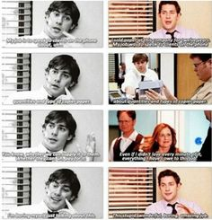 First day vs Last day #theoffice #jim