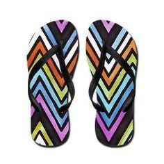 Drizzle Flip Flops by Erin Jordan